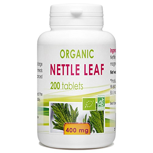 Nettle Leaf 200 Organic Tablets 400 mg