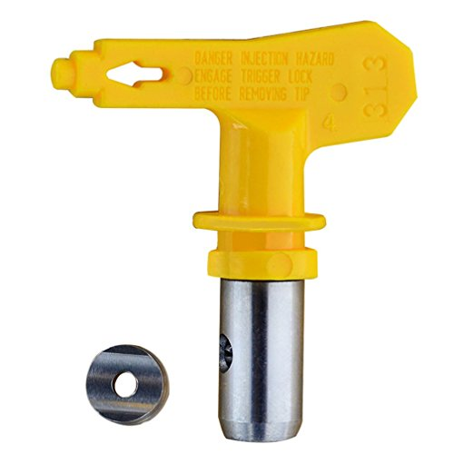 Jewboer Reversible Switch Tip for Airless Paint Spray Guns (Reversible Spray Tip Guard)