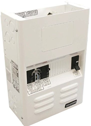 Magnum Energy MMP250-30D MMP-Series Mini Panel with 250A (fits 12 VDC and 24 VDC models) DC Breaker and 30A Dual Pole AC Input Breaker Fits one ME, RD, MS, MS-AE or MS-PAE