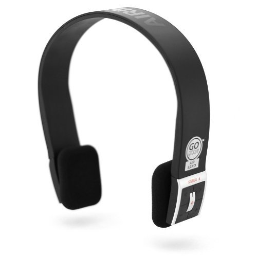 GOgroove AirBAND Bluetooth Stereo Headphones with Microphone and Onboard Controls - Works with Apple iPhone 6S , Samsung Galaxy S7 , HTC One M9 & More