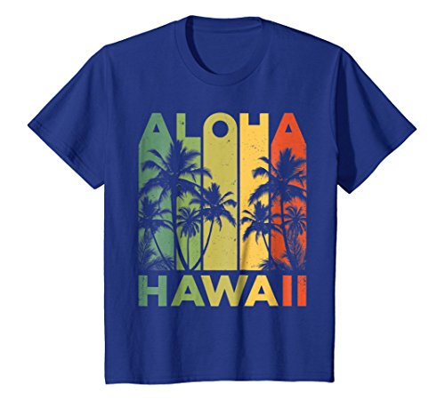 Aloha Hawaii Hawaiian Island T shirt Vintage 1980s Throwback