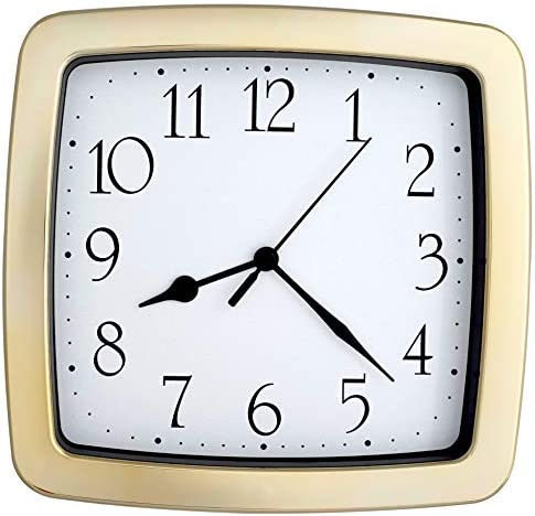 8.5-inch Quality Square Water Resistant Quartz Wall Clock Special