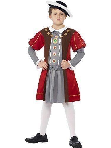 Fancy Me Big Boys' Horrible Historie King Henry Viii Tudor Monarch Historical 7-9 Years Multi-Coloured