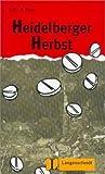 Heidelberger Herbst : Leichte Lektüren, Deutsch als Fremdsprache, unknown, 3468497121