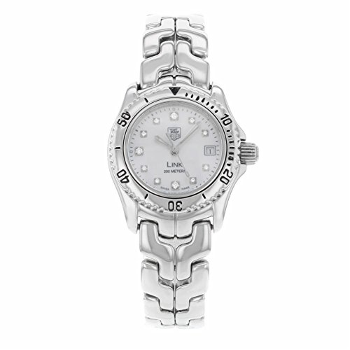 Tag Heuer Link analog-quartz womens Watch WT1418.BA0561 (Certified Pre-owned)