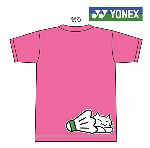 YONEX(요넥스) T셔츠 배드민턴[고양이 낮잠][16400][한정]