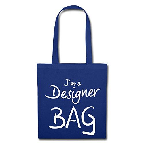 Spreadshirt Designer Bag Stoffbeutel Royalblau