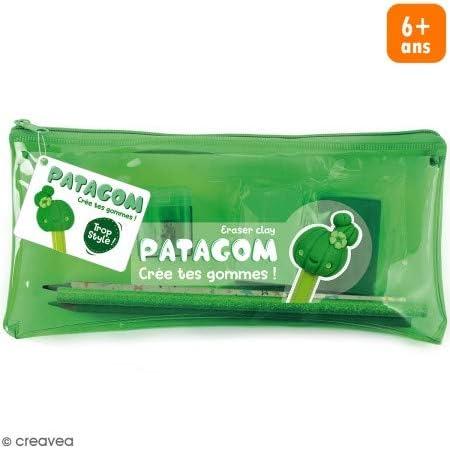 Patagom - Kit de estuche para lápices, 7 unidades, color verde: Amazon.es: Hogar
