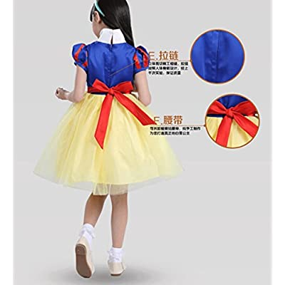 Wellin Little Girl's Princess Dress Costumes, Fancy Party Dress: Clothing