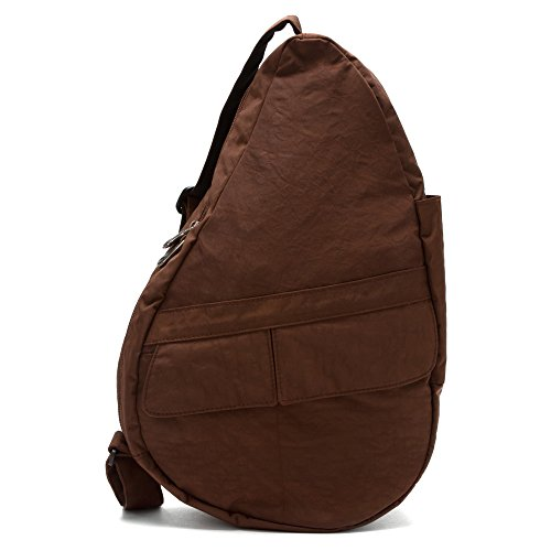 (AmeriBag Healthy Back Bag tote EVO Distressed Nylon Small Brown)