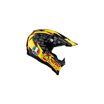 AGV AX8 tp199 Nitro Circus Past Rana Moto Casco: Amazon.es ...
