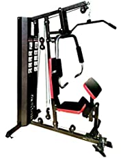 Fitness World, Multi Exercise Home Gym, Black