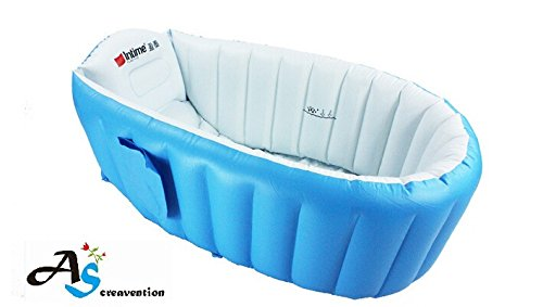 a s creavention inflatable baby bathtub blue buy online in uae baby product products in. Black Bedroom Furniture Sets. Home Design Ideas