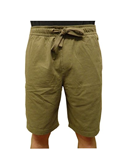 Tailor Vintage Men's Pull-on Chino Shorts (large, Olive)