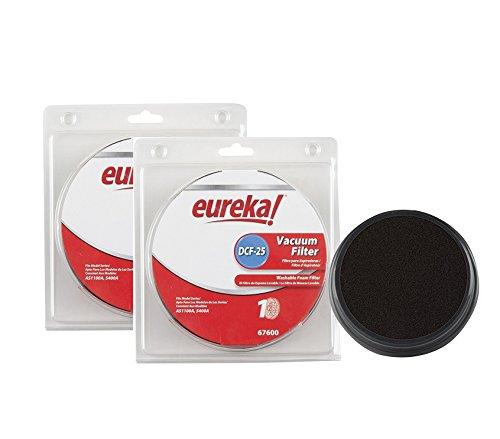 - Genuine Eureka DCF-25 Vacuum Filter 67600 2-Pack