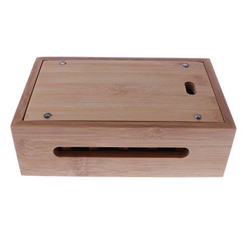 Homyl Bamboo Mobile Phone Holder Mount Station Wooden Desktop Tablet Dock Cradle by Homyl (Image #9)