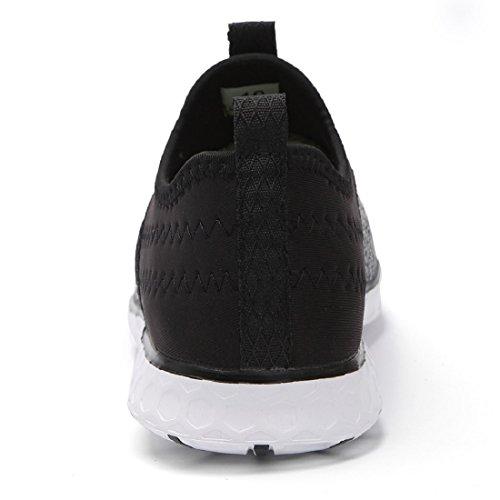 Drying Perfect Match Case Men's Aqua for Shoes 057xi Black Water Women's Gray Lightweight Slip Phone eyeones on Mesh Waterproof Quick 7xPIqwqaF