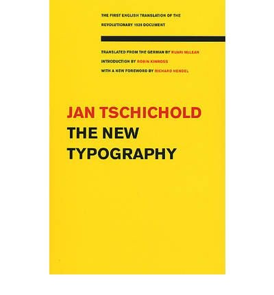 Download [(The New Typography )] [Author: Jan Tschichold] [Sep-2006] pdf