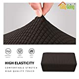 Easy-Going Stretch Ottoman Cover Folding Storage