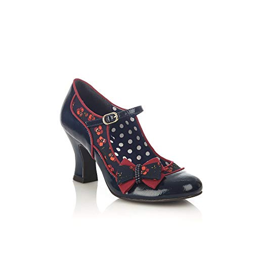 Ruby Femmes Bleues Shoo Chaussures Habilles Pour nYA7UqO