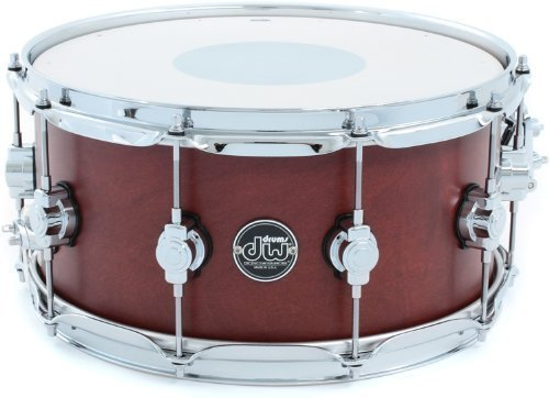 DW Performance Series Satin Snare - Tobacco Stain by DW