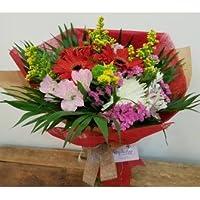 REGALAUNAFLOR-Ramo de flores alegria-FLORES NATURALES-ENTREGA EN 24 HORAS DE MARTES A SABADO.
