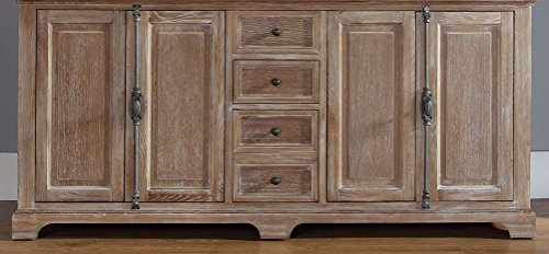 """James Martin Providence 72"""" Double Bathroom Vanity in Driftwood - Top Not Included from James Martin Furniture"""
