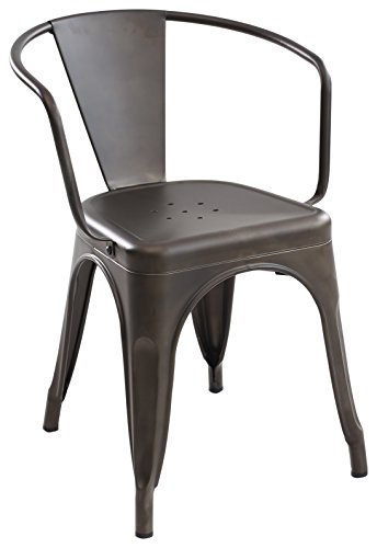 Poly and Bark Trattoria Arm Chair in Bronze Review