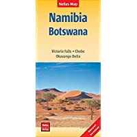 Namibia Nelles Travel Map 1:1,500,000 wp