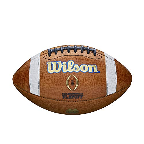 (College Football Playoff Official Size Football - Notre Dame)