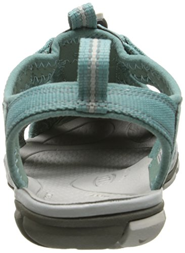 Keen Clearwater CNX, Sandalias con Cuña Para Mujer Azul (Mineral Blue/Vapor)