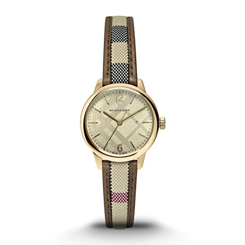 Burberry-Womens-Swiss-The-Classic-Round-Multi-Color-Fabric-Strap-Timepiece-32mm-BU10114