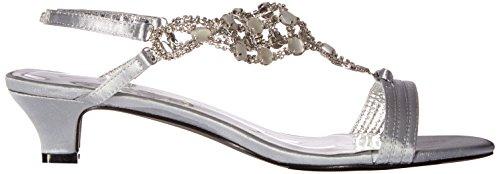 Annie Scarpe Da Donna Coinvolgono Il Vestito Sandalo Argento