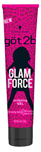 2x GOT2B Glam Force Sculpting Gel 6oz Each Schwarzkopf Hair