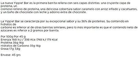 WEIDER YIPPIE BAR (12x45GR) PACK VARIADO: Amazon.es: Salud y ...