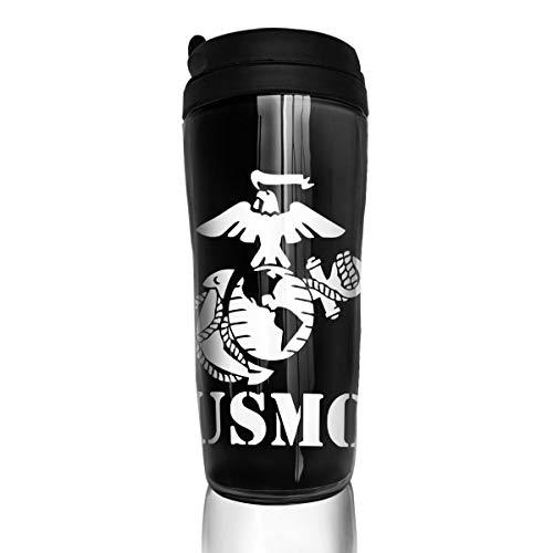 - Tretonku Coffee Mug, Eagle Globe Anchor USMC Marine Corps, Decaf Mountain Outdoor Coffee Mug Carry Hand Cup for Kids Teens Adults