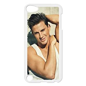 CTSLR Channing Tatum Protective Hard Case Cover Skin for iPod Touch 5 5G 5th Generation- 1 Pack - Black/White -5