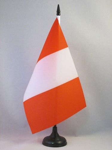 AZ FLAG Bandiera da Tavolo Perù 21x14cm - Piccola BANDIERINA PERUVIANA 14 x 21 cm
