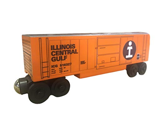 Whittle Boxcar - Whittle Shortline Railroad - Manufacturer ICG Series 44 Boxcar - Wooden Toy Train