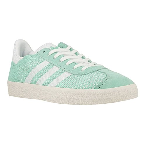 Scarpe White adidas Vert Ginnastica da Chalk Footwear White Primeknit Green Donna Easy Gazelle Basse E4Wq4R