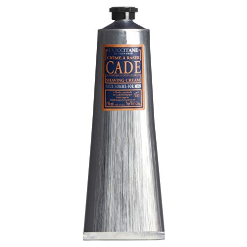 (L'Occitane Cade Shaving Cream Enriched with Essential Oils and Shea Butter, 5.2 fl. oz.)
