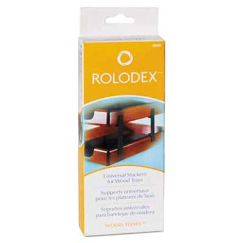 Legal Desk Tray Stackers (Rolodex Wood Tones Letter/Legal Desk Tray Stackers, 4 Tier, Metal, Black)