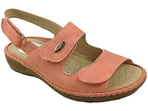 Foster Footwear - sandalias mujer polvo rosa