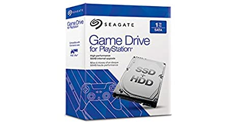 High Performance SSHD Hard Drive Upgrade for PS4 Seagate STBD1000101 1 TB Game Drive for PlayStation