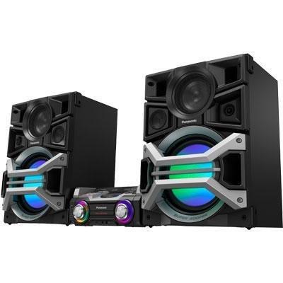 Panasonic SCMAX670 DJ Jukebox Audio System 4 Speaker (Speaker Panasonic Speakers)