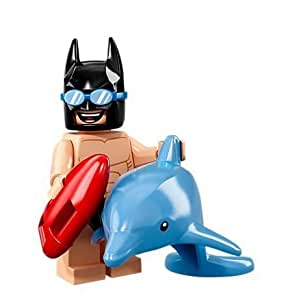 LEGO The Batman Movie Series 2 Collectible Minifigure - Swimsuit Batman with Dolphin (71020)