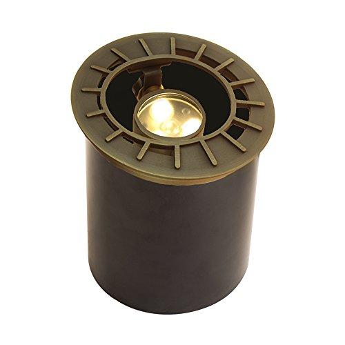 VOLT Lighting Adjustable LED In-Ground Well Light - Low-Voltage - Brass Landscape Light by VOLT (Image #9)