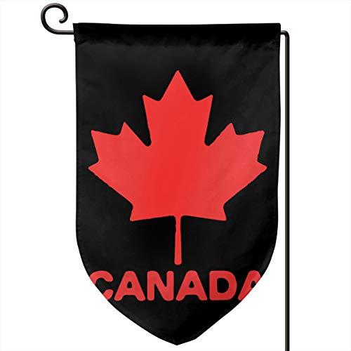 Canadian Flag Canada Maple Leaf Printed Outdoor/Home Demonstration Flag Festival Garden Flag 12.5