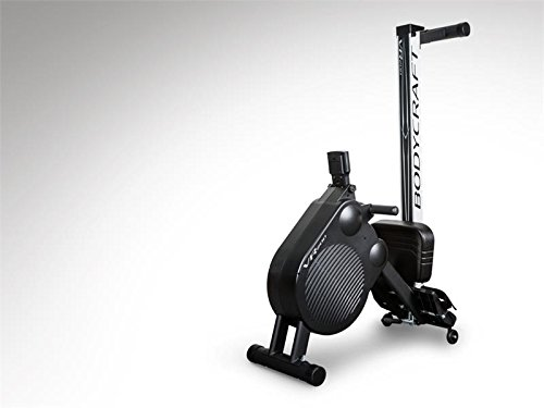 BodyCraft VR200 Pro Rowing Machine with Air and Magnetic Resistance Folding Rower for Home or Workout Studio