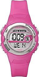 Timex T5K771 Ladies Marathon Bright Pink Resin Watch